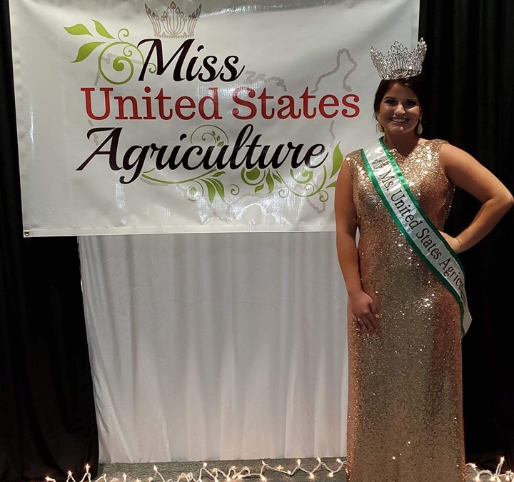 2019 National Ms United States Agriculture				    	    	    	    	    	    	    	    	    	    	5/5							(1)