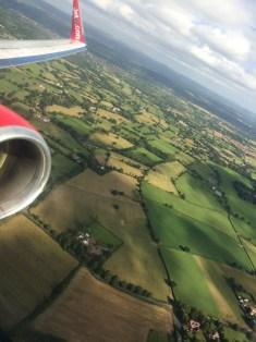 UK's green fields
