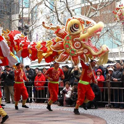 Trending: Lion and Dragon Dance