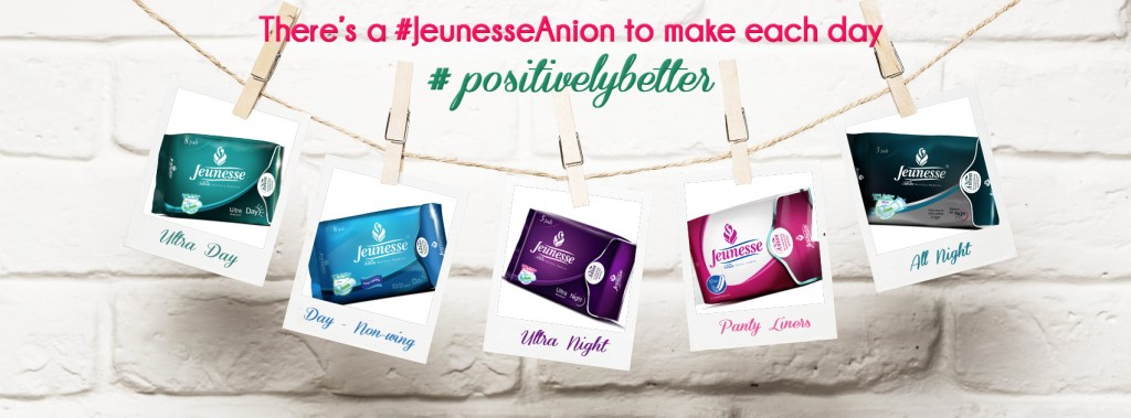 Jeunesse Anion Sanitary Napkin and Liners
