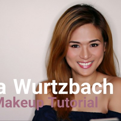 PIA WURTZBACH MAKEUP TUTORIAL