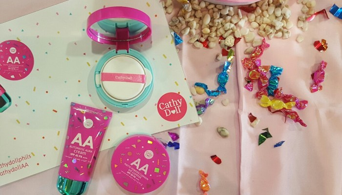 REVIEW: CATHY DOLL AA SERIES CREAM AND POWDER CUSHION