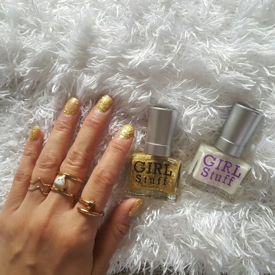 GLITTER AND DAZZLE WITH GIRLSTUFF'S 3D CELESTIAL-THEMED MANI
