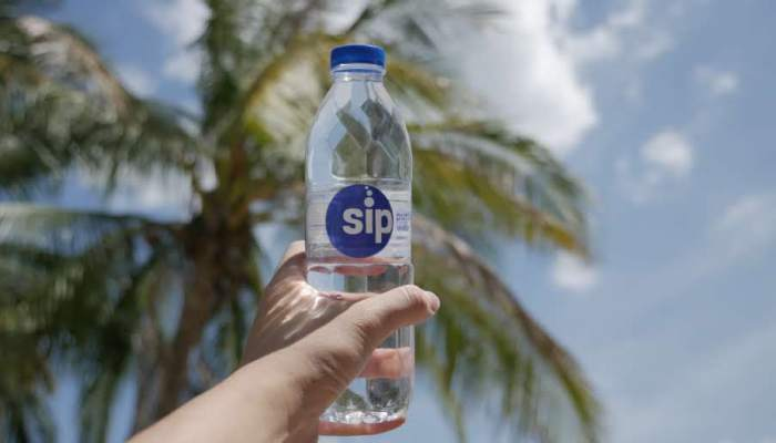 SIP PURIFIED WATER: PURE WATER THAT'S FILTERED BY NATURE
