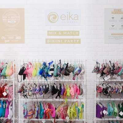 EIKA SWIMWEAR: MIX AND MATCH BIKINI PARTY