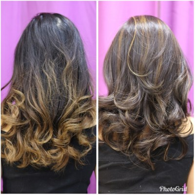 STATUS HAIR SALON: HAIR MAKEOVER WITH COLOR + HIGHLIGHTS + TREATMENT