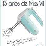 Sorteo – Tercer Aniversario de Miss Vinagre