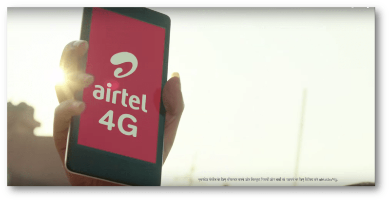 Run ahead of time with Airtel 4G
