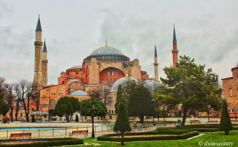 Istanbul Hagia Sophia Front