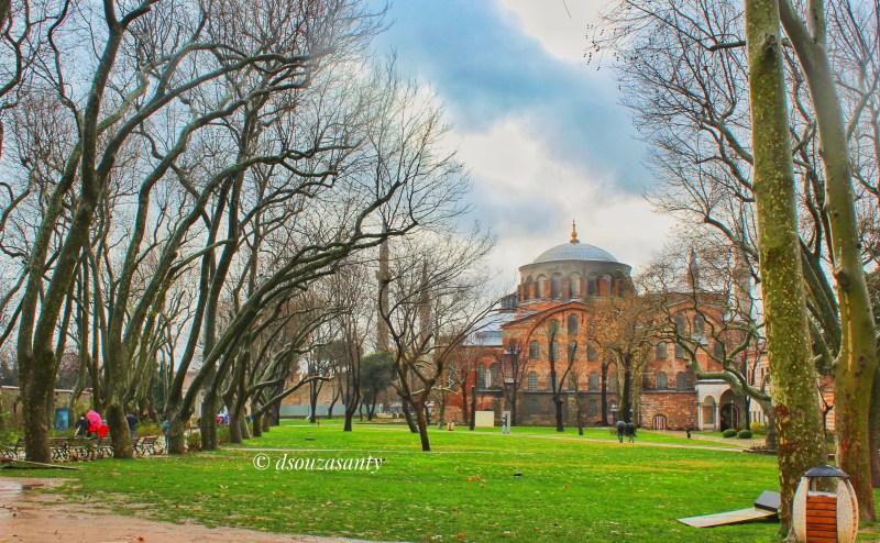 Istanbul Hagia Sophia View