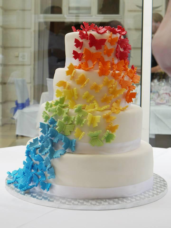 Regenbogen-Hochzeitstorte-MissXoxolat