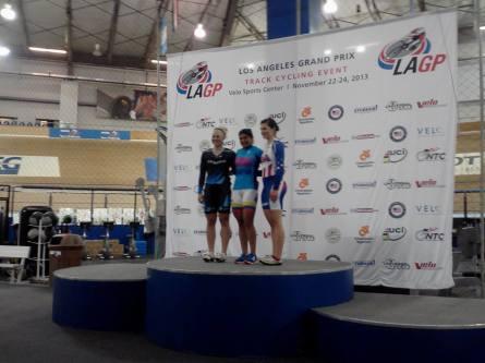 2013 UCI LA Grand Prix Sprint Silver Medalist