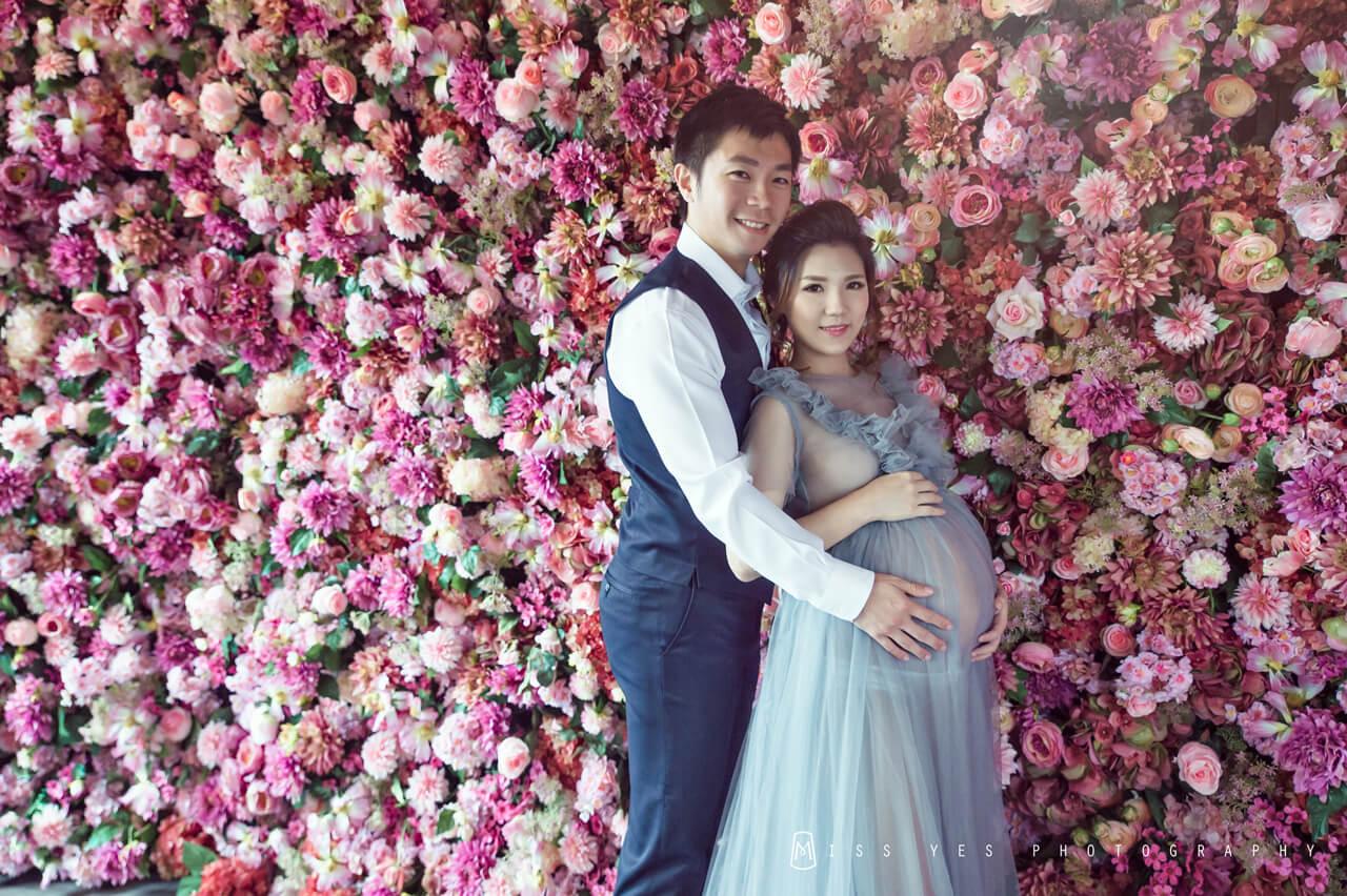 孕婦寫真,女攝影師,孕媽咪,孕婦禮服,娃娃臉