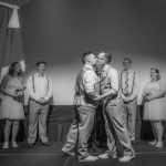 Lake Theater and Cafe Wedding | Nathan and Brandon