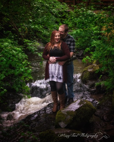 Vancouver wa engagement session at round lake camas wa