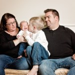 Welcome Margaret! – The Whites Family Session in Studio