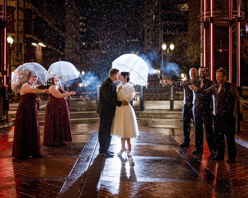 Heathman Hotel Wedding