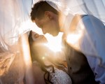 Cheyanne and Joey | A Wedding with a PERFECT Sunset