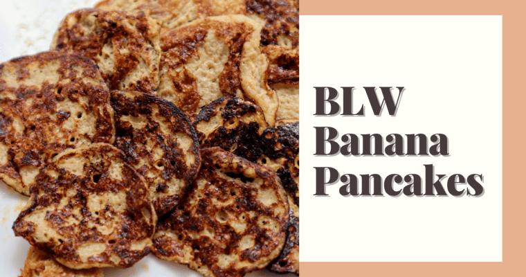 BLW Banana Pancakes
