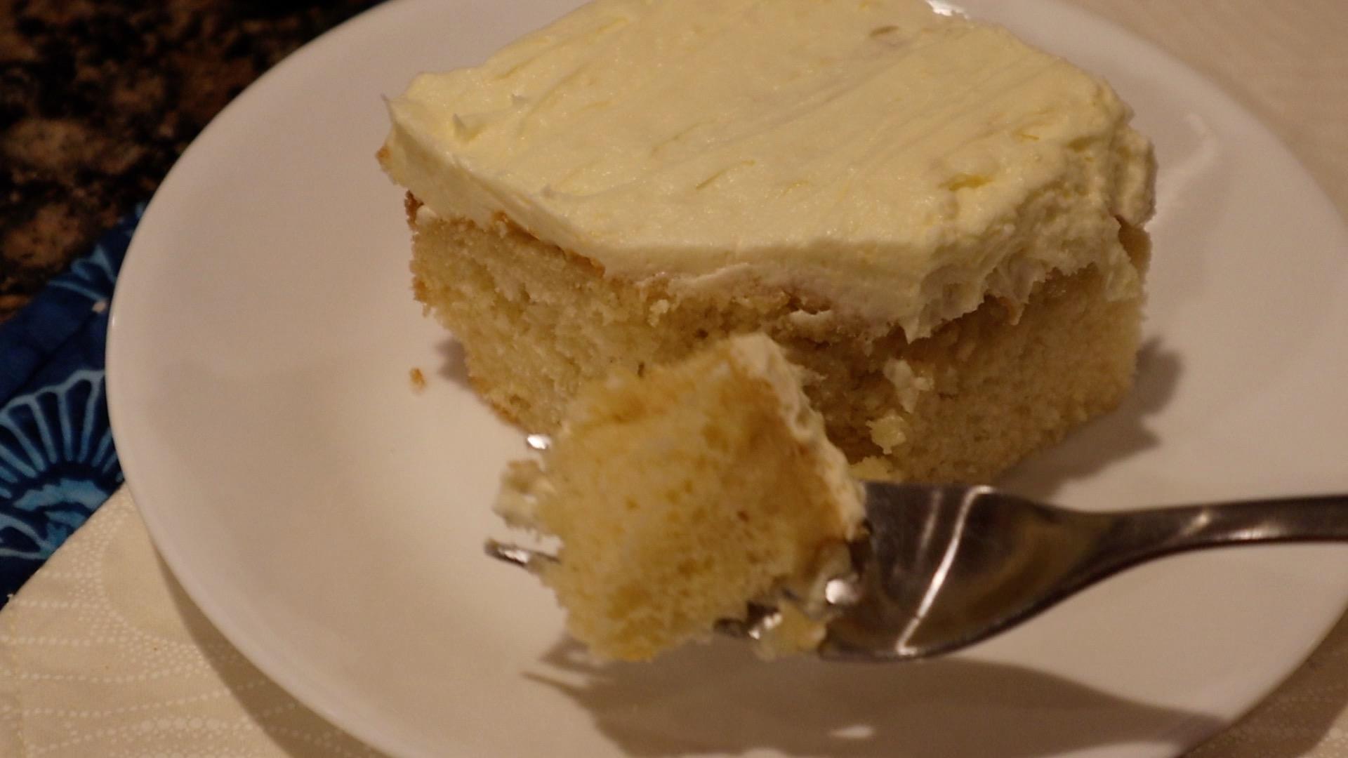 Lemon Yellow Cake & Lemon Buttercream