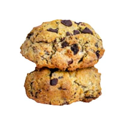 STACK OF 2 CHUNKY COOKIES