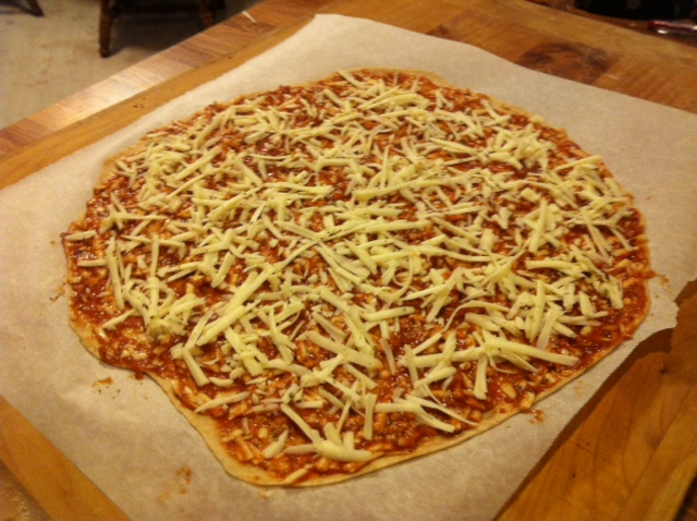Tammy's Homemade St. Louis Style Pizza (3/5)