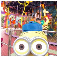 Photobombed by my Minion :p