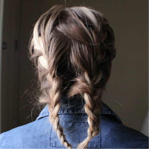 Two French Braids Inspired By Nicole Richie MISSY SUE