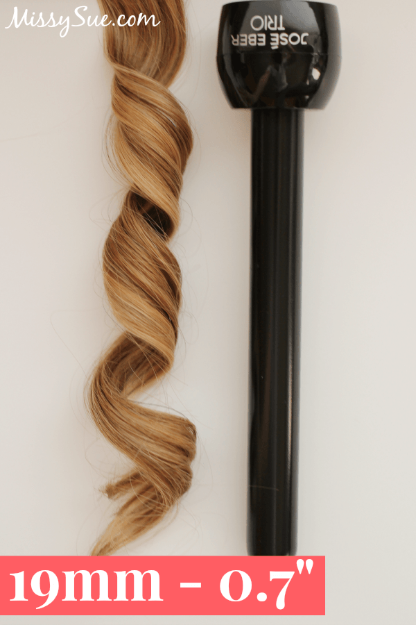 how to create barrel curls with a flat iron