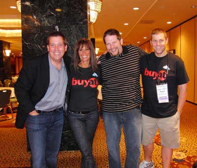 Peter Shankman, Missy Ward, Chris Brogan, Shawn Collins Photo
