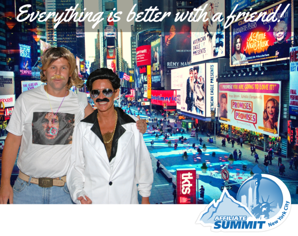 Buy One Get One Free to Affiliate Summit East 2014