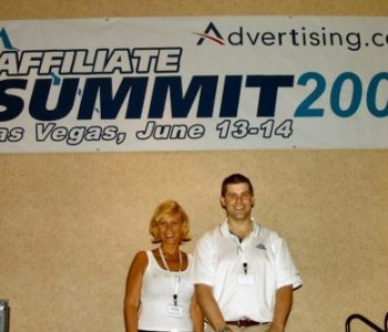 Missy Ward and Shawn Collins at Affiliate Summit 2005
