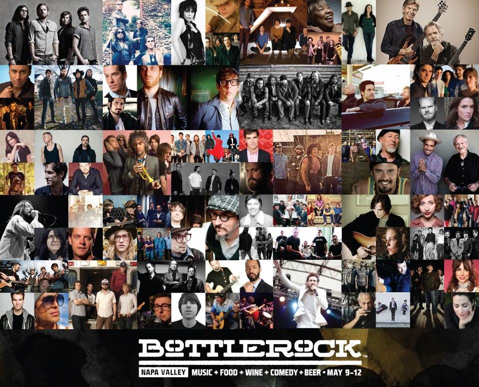 BottleRock Napa Bands