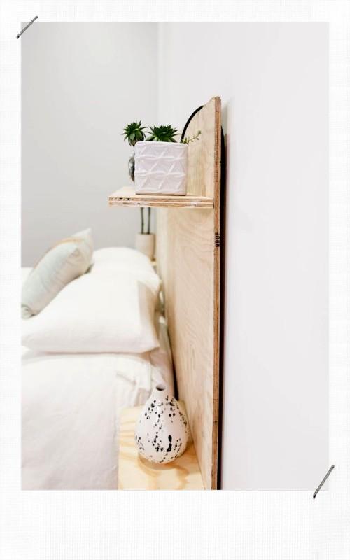 tuto diy pour fabriquer une tete de lit