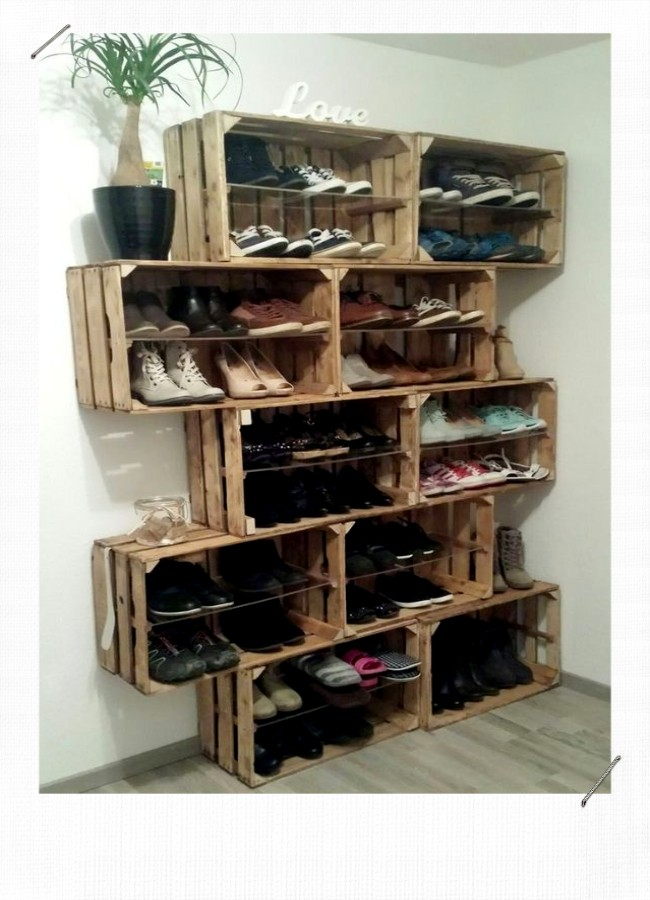 12 idees pour ranger ses chaussures