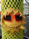 yarn bombing at leyweg 3