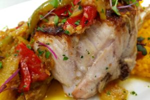 mister c's grilled pork chop chutney jersey shore restaurant