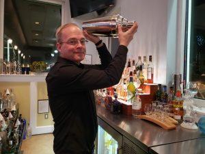 Kevin Harvey Head Bartender at Mister C's