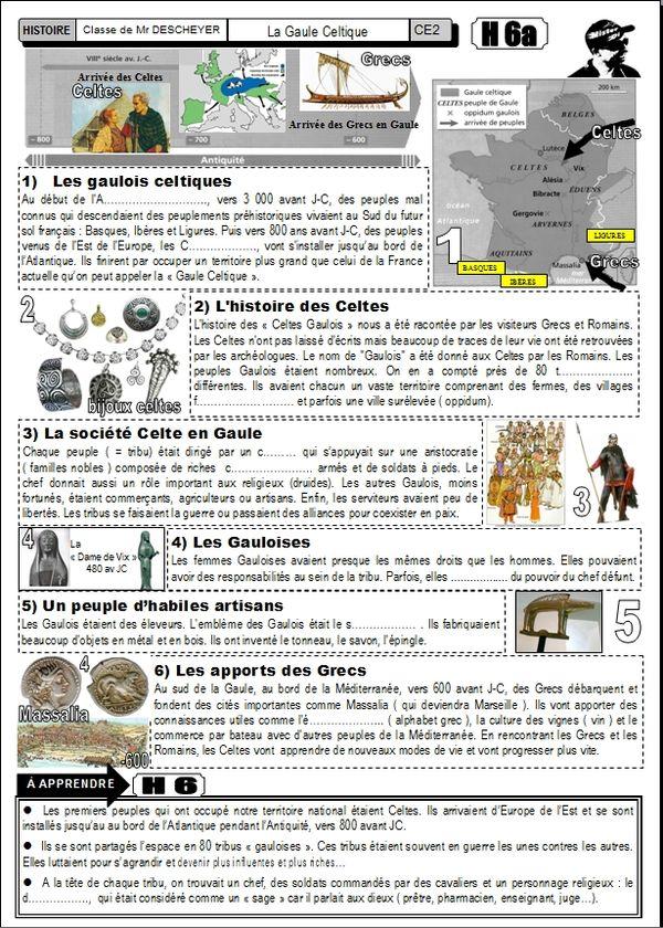 Dossier Complet Les Celtes Gaulois H6 Le BLOG De