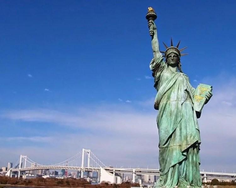 Patung Liberty Amerika Serikat