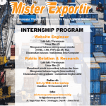 Internship Program ( Magang ) di Mister Exportir