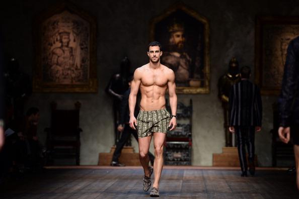 Dolce & Gabbana - Runway - Milan Fashion Week Menswear Autumn/Winter 2014