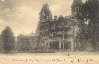 Asylum's admin building
