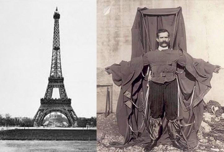 Qui n fue el sastre volador de la torre eiffel for Quien hizo la torre eiffel