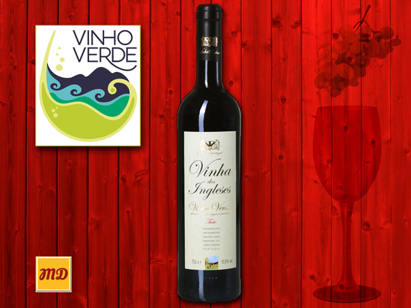Vinho Verde Tinto or Red Green Wine
