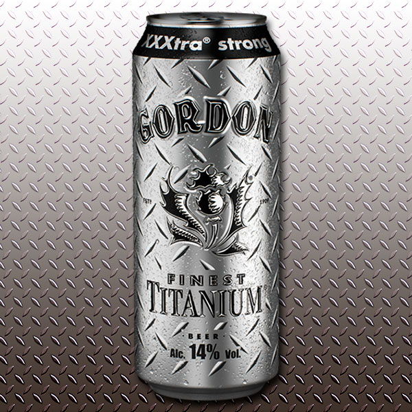Beer Gordon Finest Titanium