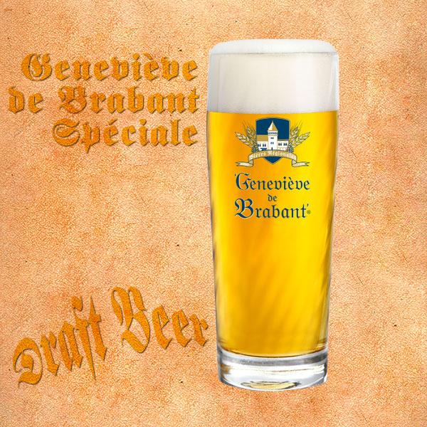 Draft beer Genevieve de Brabant Speciale
