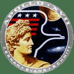 Simbolo emblema della missione di sbarco sulla luna Apollo 17.