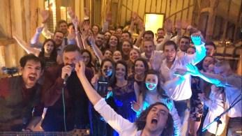 Wedding Band Selfie