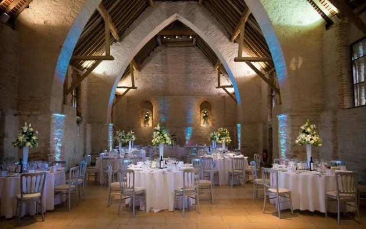 The Tithe Barn wedding venue hampshire